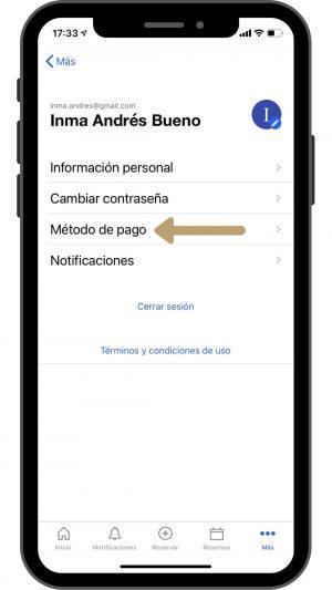 1 iphone método pago