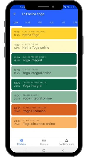 4 android horarios